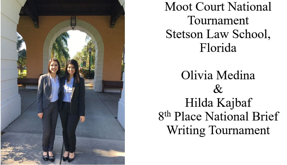 Moot Court National Tournament Stetson Law School