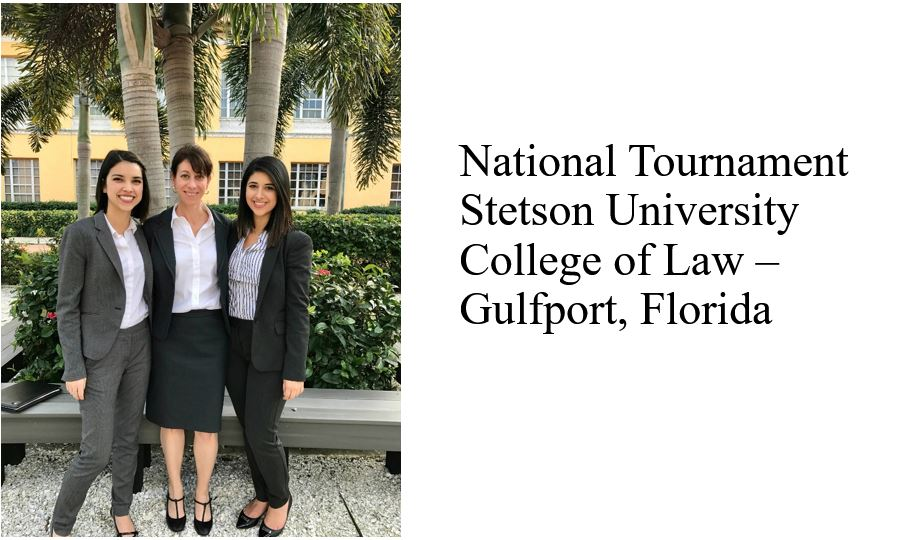 National Tournament Stetson University College of Law