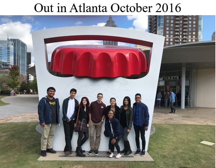 Out in Atlanta October 2016