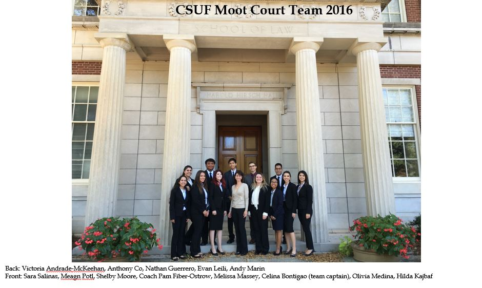 Moot Court Team 2016